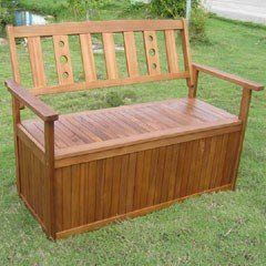 Greenfingers Cubero Garden Storage Bench on Sale   Fast Delivery   Greenfingers.com