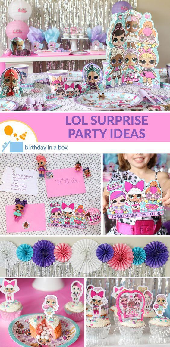Der Reiz dessen, was sich in einem LOL-Überraschungsball versteckt, ist unwiderstehlich …   – Kids bday party ideas