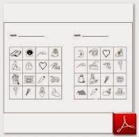 Kleuterjuf in een kleuterklas: Plaatjes bingo   Thema SINTERKLAAS