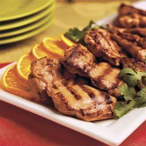 chicken chicken thighs healthy dinner orange gingers favorite recipe ...