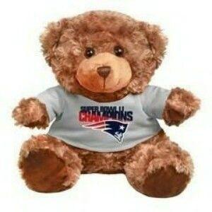 "Super Bowl Champions LI Champions teddy bear - Patriots.com Pro Shop - (""Brady"" as I've named him, arrived today)"