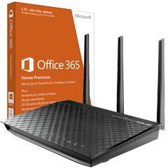 Hemmakontorpaket - Asus RT-N66U & Microsoft Office 365 fra CDON. Om denne nettbutikken: http://nettbutikknytt.no/cdon-com/
