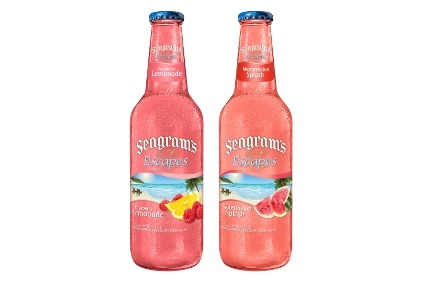 Flavored Seagrams ~ great summer treat ~