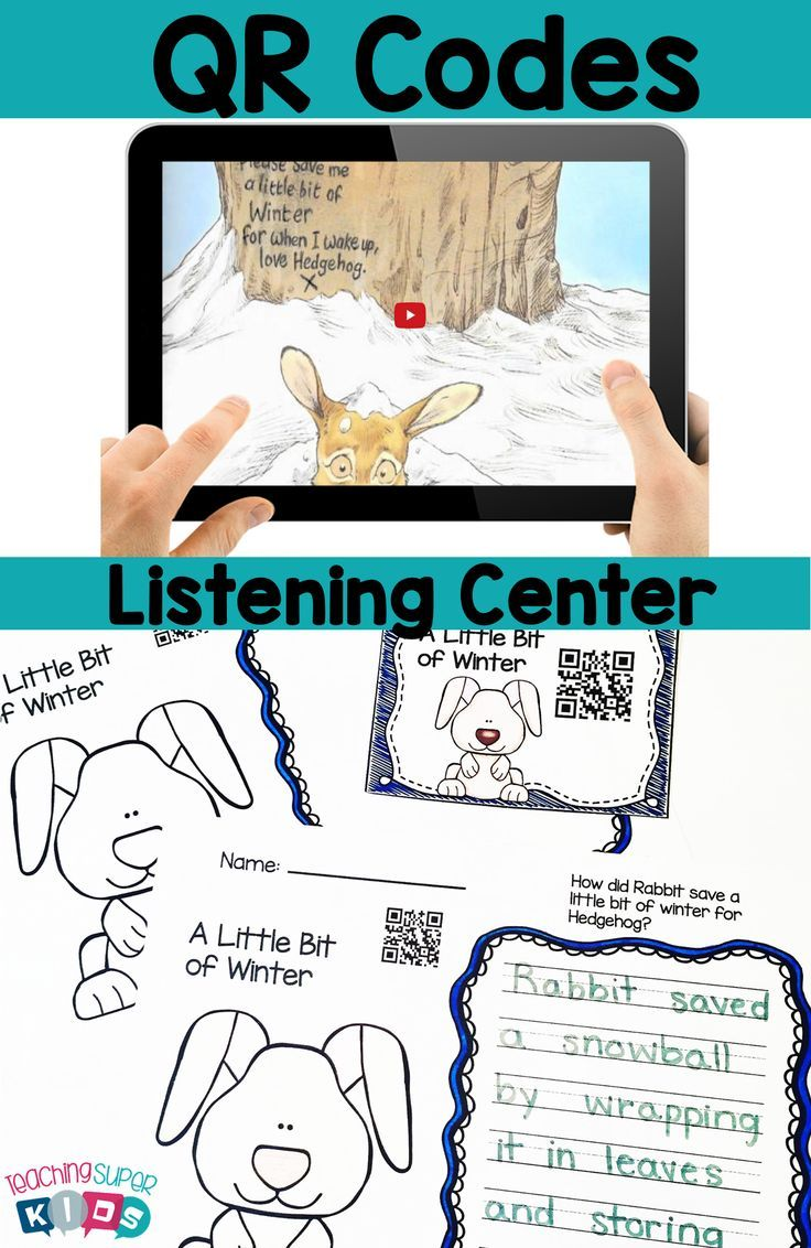 January QR Codes for Your Listening Center with Student Response Sheets  This set contain Winter themed stories, snowmen,penguins, polar bears and snow. This is a perfect set for the Tech Savvy Classroom! Students love Technology and these QR Codes are easy and fun for students to use. Updated to add cover and signs.