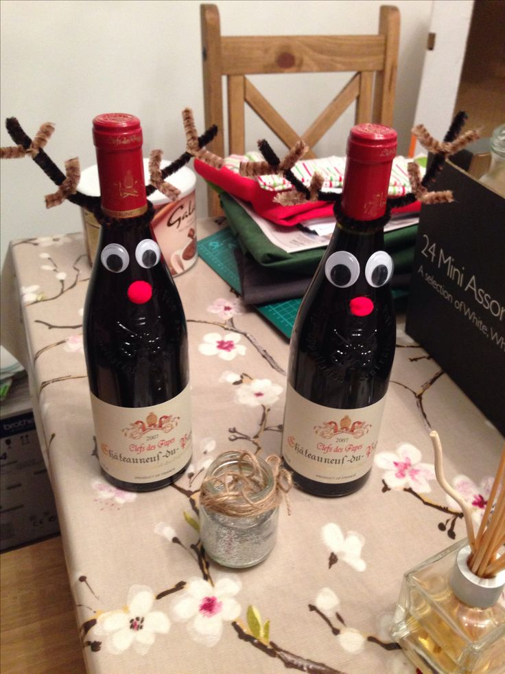 Reindeer christmas home made gift