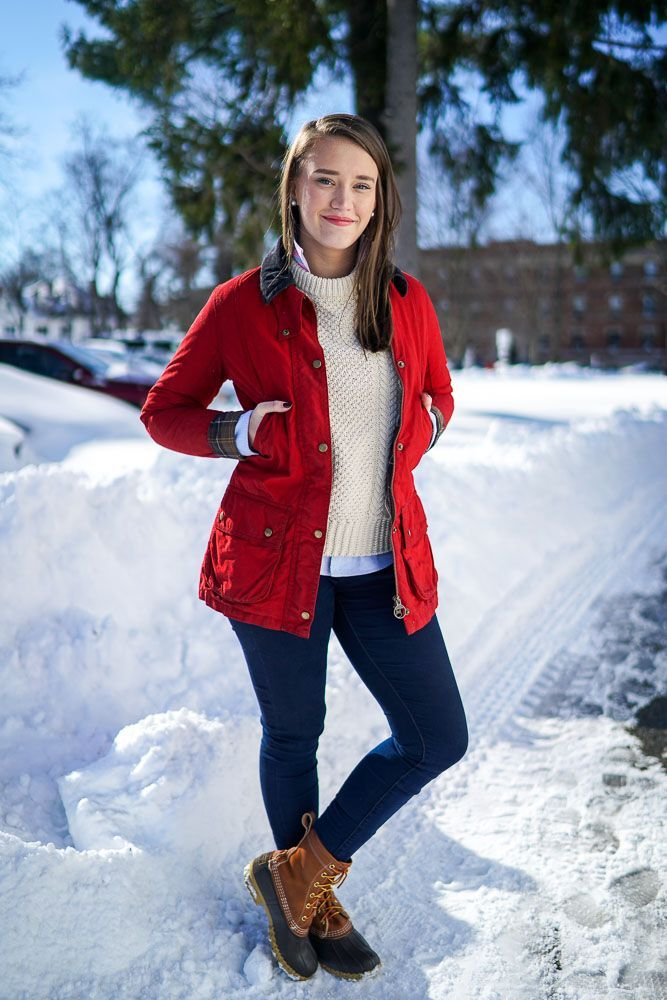 Preppy Winter Fashion with Barbour and LL Bean (Covering the Bases)