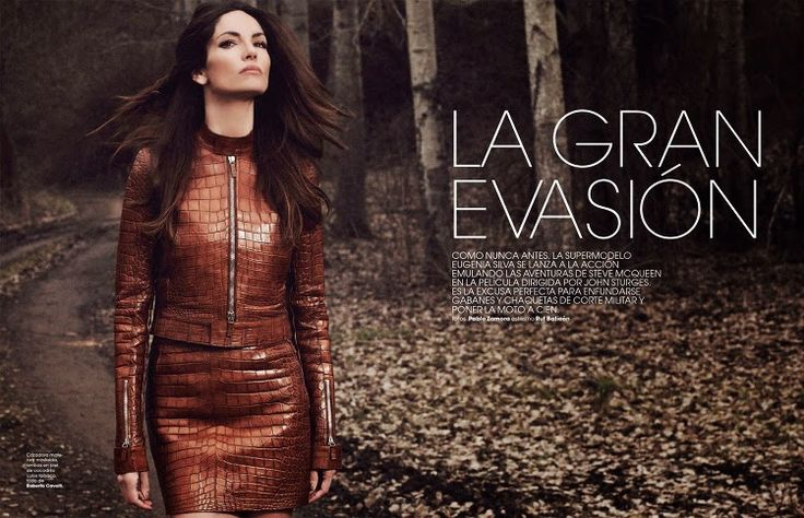 World Country Magazines: Model @ Eugenia Silva - Marie Claire Spain, April 2015