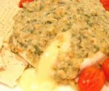 Warm Brie with Basil Pesto Dressing | Official Thermomix Recipe Community