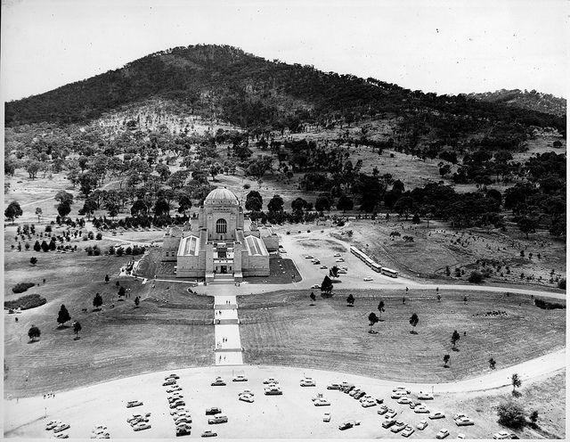 1950s: The Australian War Memorial, Canberra.