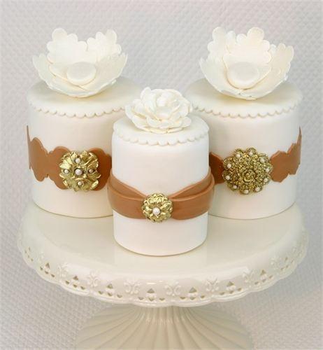 661 Best Mini Cakes Images On Pinterest Mini Cakes