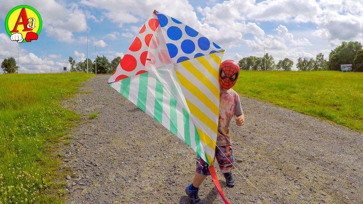 Маленький человек Паук и его воздушный Змей