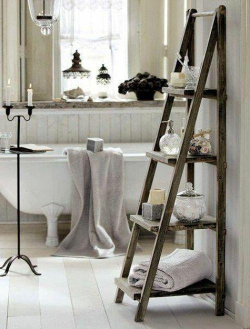 Badeinrichtung Mit Extra Stauraum Badezimmer Leiter Badezimmer