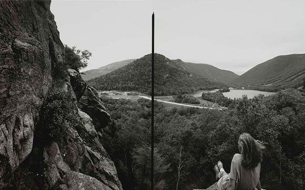 """Barbara Bosworth, Artist's Bluff, White Mountain National Forest, New Hampshire, 1991, Gelatin silver print on paper, 9-5/8 x 15-1/2"""", Smithsonian American Art Museum, Gift of Haluk Soykan and Elisa Frederickson, 2008.2.12."""