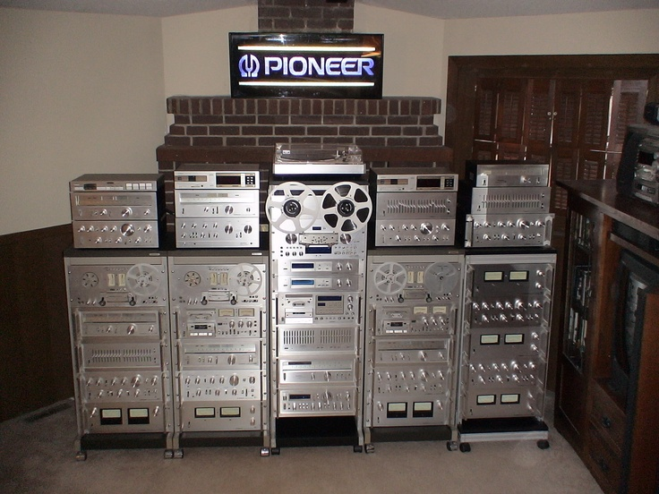 my silver racks vintage pioneer stereo equipment i 39 ve. Black Bedroom Furniture Sets. Home Design Ideas