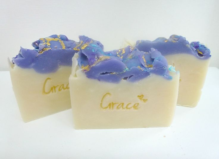 Love the stamp on the soap