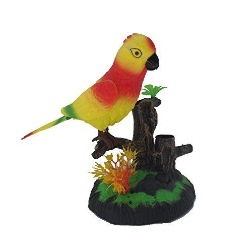 Flying Bird Air Swimmer Happy Fake Bird Talking Parrot Robot Pets Electronic Bird Toys by Magical Imaginary. #Flying #Bird #Swimmer #Happy #Fake #Talking #Parrot #Robot #Pets #Electronic #Toys #Magical #Imaginary