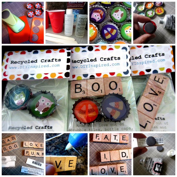 """junk drawer"" crafts perfect for a fundraiser or stocking stuffer"