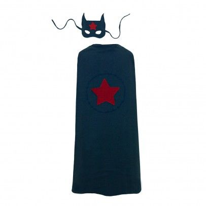 Super Hero costume - navy blie  Numero 74