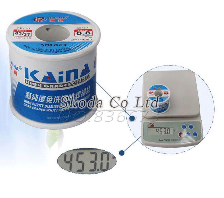 $24.49 (Buy here: https://alitems.com/g/1e8d114494ebda23ff8b16525dc3e8/?i=5&ulp=https%3A%2F%2Fwww.aliexpress.com%2Fitem%2FFree-shipping-1pc-0-4mm-KAINA-450g-Tin-Lead-Melt-Rosin-Core-Flux-Solder-Soldering-Welding%2F32426712384.html ) Free shipping  1pc 0.4mm KAINA 450g Tin Lead Melt Rosin Core Flux Solder Soldering Welding Wire Reel 63/37 for just $24.49
