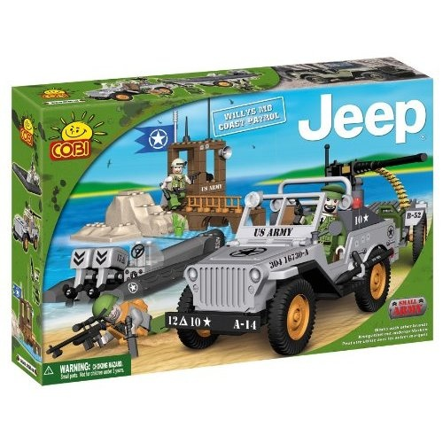 COBI Army #24251 Willys MB Coast Patrol ~josey