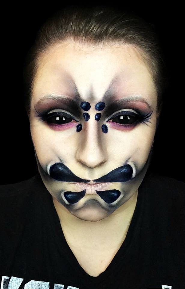 spider makeup done on myself by me mua makeup artist - Where Can I Get Halloween Makeup Done