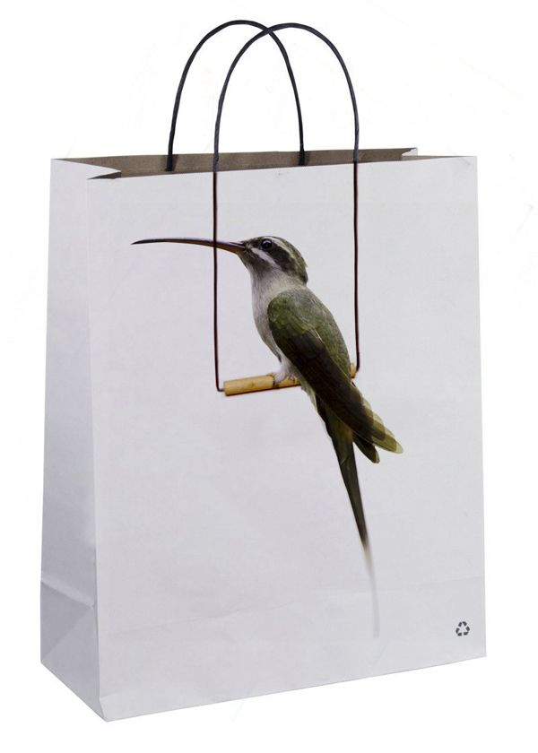 Creative Shopping Bag Designs  People who like shopping, it give them a great joy when they're walking in the street or the mall holding a beautiful bag, right? specially when it shows strong contestant messages with awesome artworks.
