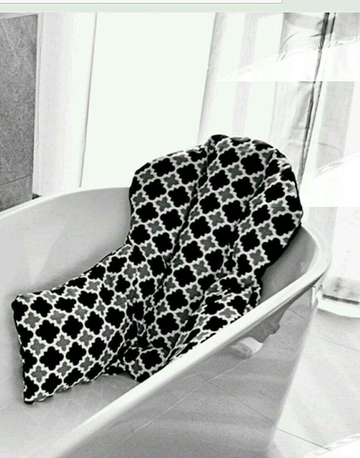 bath pillow  xmas ideas  Bathroom linen closet Bathtub