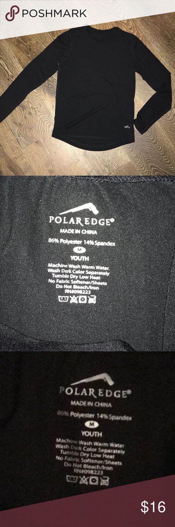 Polar Edge youth med black long sleeve undershirt Polar Edge youth med black long sleeve undershirt Polar Edge Shirts & Tops Tees - Long Sleeve