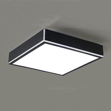 HC Einfache Kreative Schmiedeeiserne Deckenleuchte LED Wohnzimmer Schlafzimmer Restaurant Gang A Farbe