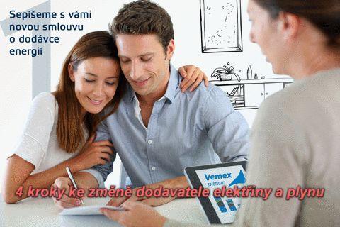 Jak se stát zákazníkem VEMEX Energie a. s.? 4 kroky ke změně dodavatele elektřiny a plynu. Volejte zdarma naši zákaznickou linku 800 400 420.