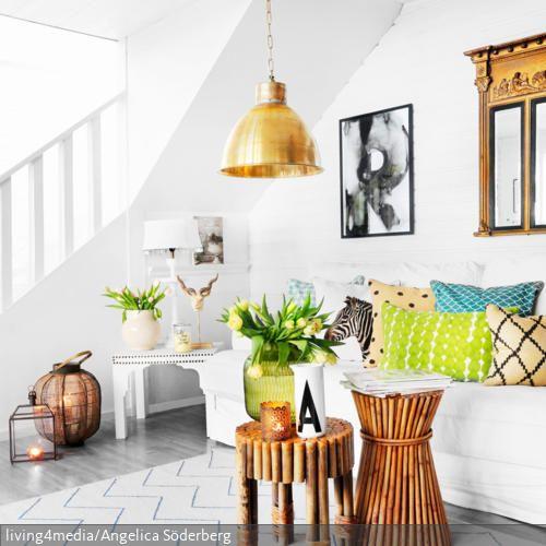 61 best Wohnen im Ethno-Stil images on Pinterest Ethnic style - bambus im wohnzimmer