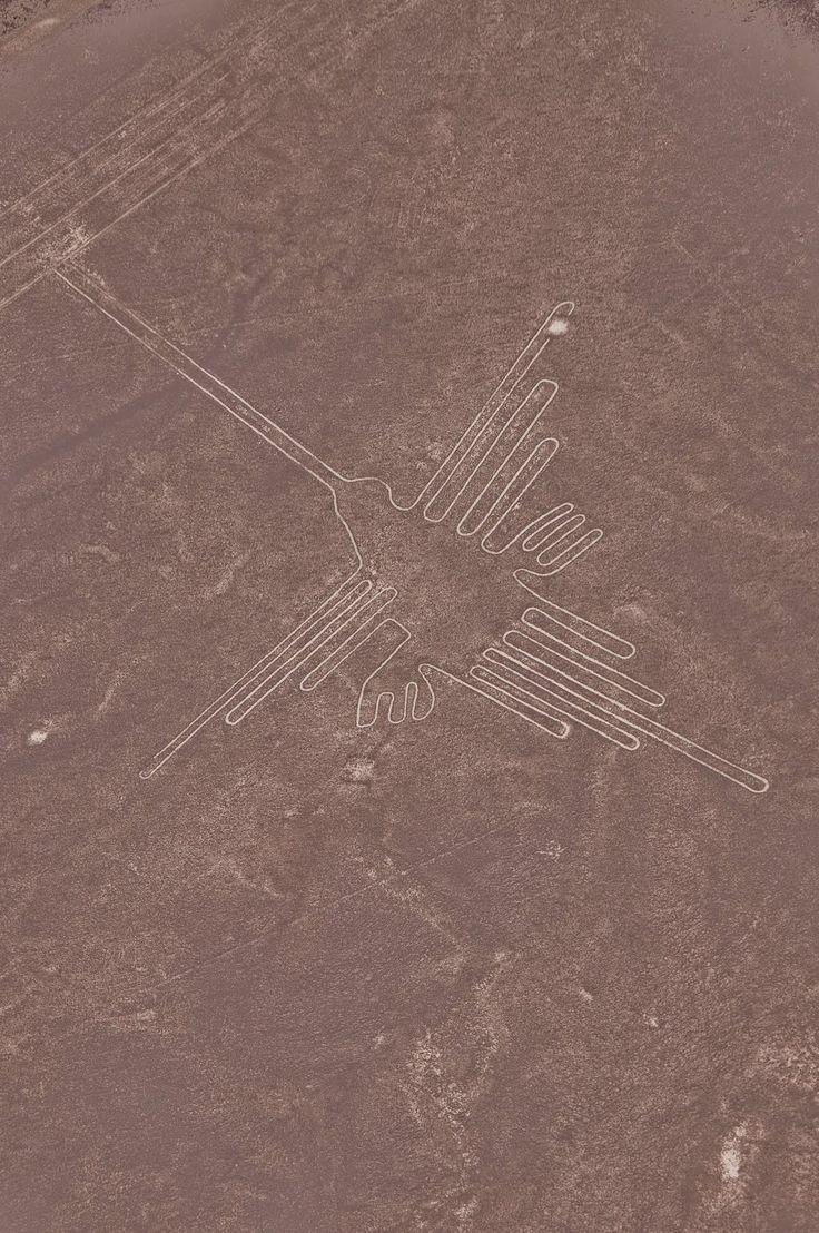 Nazca Line Hummingbird Nazca lines, Nazca, Ancient