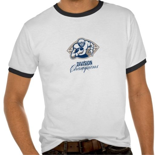 American Football Runningback Division Champions Ringer T-Shirt