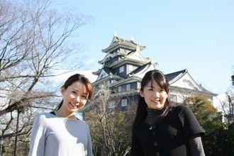 Okayama 岡山 3時間で巡る「伝説の岡山市」 初めての岡山市内観光コース - 晴れらんまん。おかやま旅ネット 岡山城(烏城)  岡山城で備前焼の体験もできるよ!  1597年に豊臣五大老の一人、宇喜多秀家が築城した岡山城。黒い下見張りの外観から別名「烏城(うじょう)」と呼ばれています。岡山城天守閣にある「備前焼工房」では土ひねり体験ができ、「お城茶屋」では岡山の旬のフルーツを使ったお城パフェを味わうことができます。