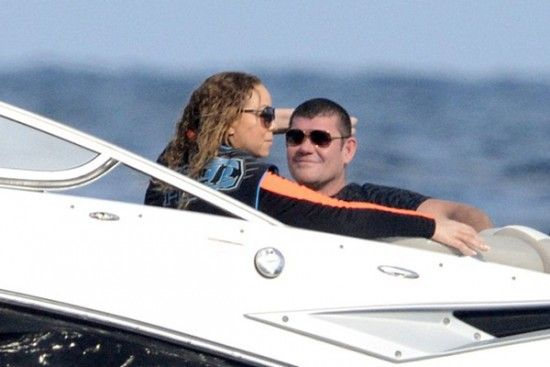 James Packer And Mariah Carey Step Out As A Couple