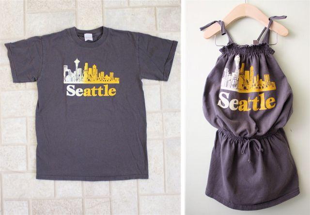 T-shirt recycling: Tees Shirts, Dresses Tutorials, Kids Dresses, Cute Ideas, Men Shirts, Old Shirts, Little Girls Dresses, Kids Clothing, T Shirts