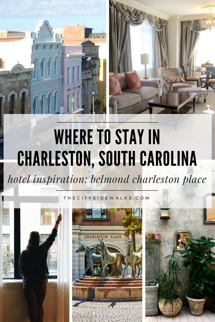 Located in the heart of the downtown Charleston is the chic and elegant Belmond Charleston Place. The hotel's prime location--just a stone's throw away from all the city's major hot spots--makes it an ideal home base for visitors from all around. Step inside this luxury, urban oasis and see why it's nearly impossible to leave the city after falling in love with its Southern Charm.