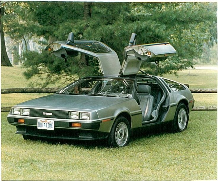 The DeLorean vehicle is best known for its unpainted, stainless steel exterior, gulf-wing doors and of course the 'Back To The Future' movie series. In truth, the DeLorean was an unsuccessful venture into the automotive market and the Dunmurry company (near Belfast) which produced the car, collapsed in 1982.