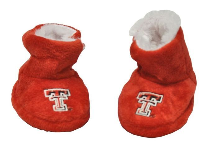Texas Tech Red Raiders Slippers - Baby High Boot Z157-8496621091