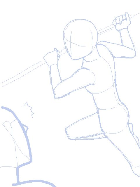 Fighting Pose   idear to charekter poses   Pinterest ...