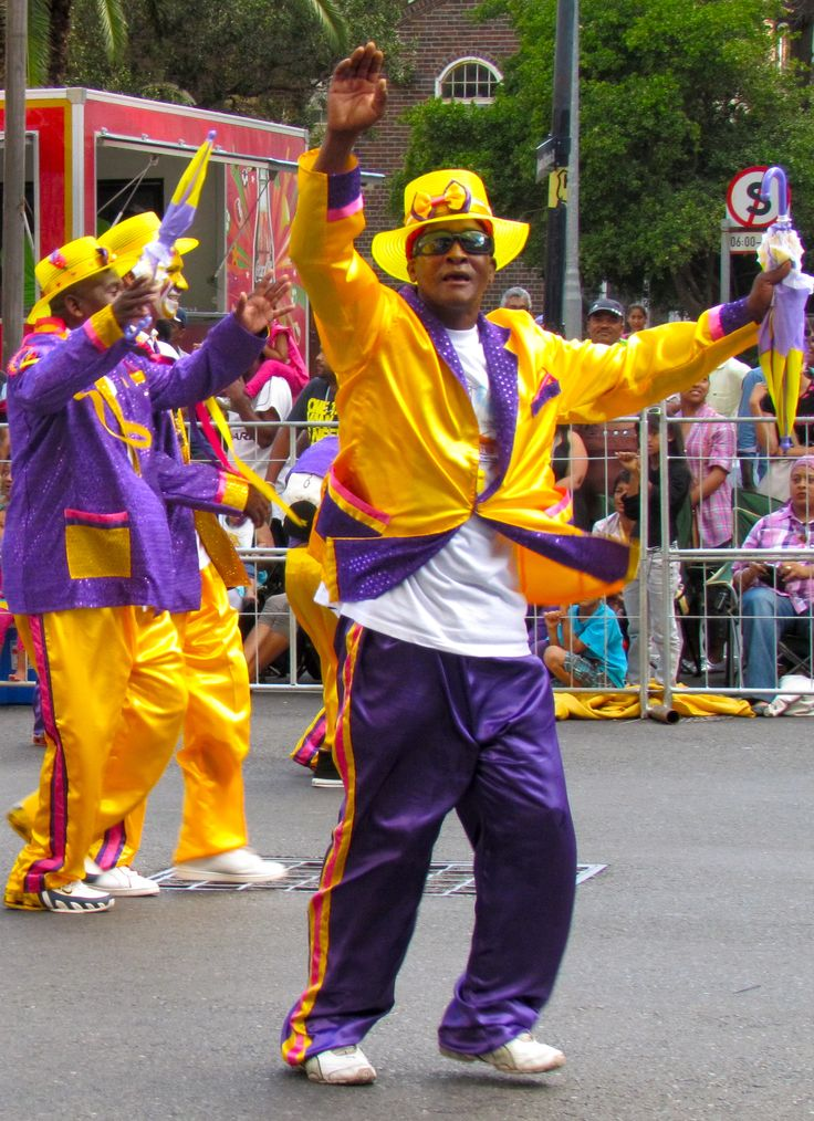 "Add a little culture and color by vising Cape Town this New Year's for the Cape Minstrel (""Coon"") Festival!"