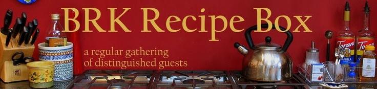 BIG RED KITCHEN Recipe Box