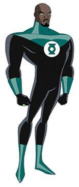 John Stewart (Lanterna Verde) - Galeria de Personagens de Desenhos Animados - GPDesenhos.com.br