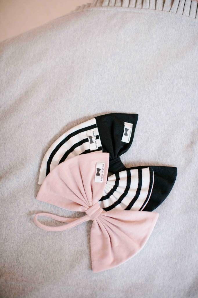 Pacifier Cloth in Powder Pink, Breton and Black   #clothing #essentials #kids #children #fashion #home #houseofjamie