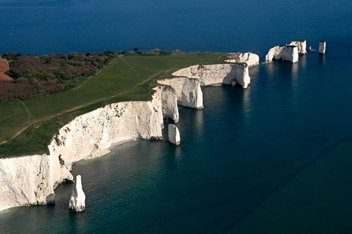 OLD HARRY ROCKS | Nr. SWANAGE | DORSET | ENGLAND