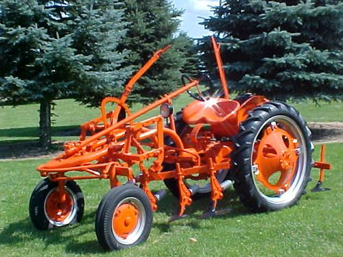 Allis Chalmers G Tractor : Allis chalmers model g video