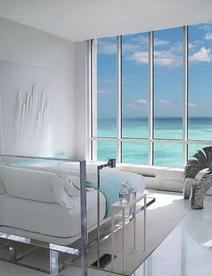 Miami penthouse bedroom