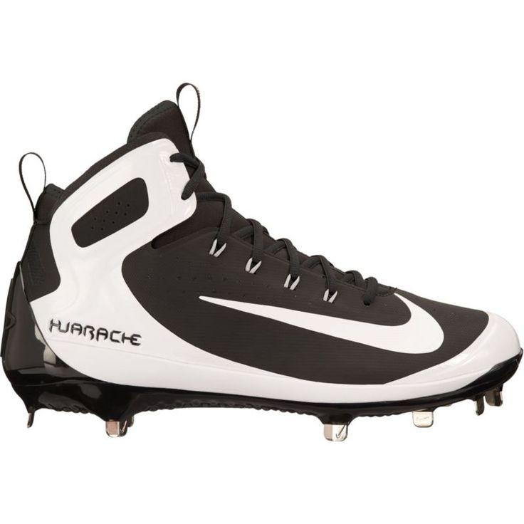 Nike Men\u0027s Alpha Huarache Elite Mid Baseball Cleats, Size: