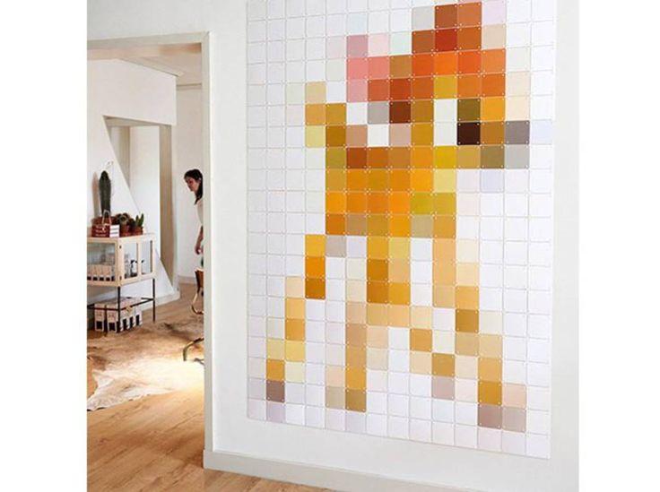 Un tableau en pixels XXL