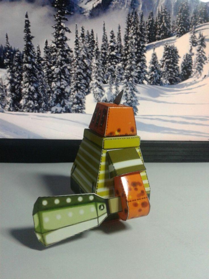 Papercraft creation indonesian